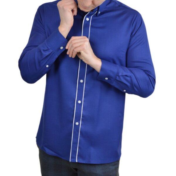 Tailormade-skjorte-blaa-klassisk