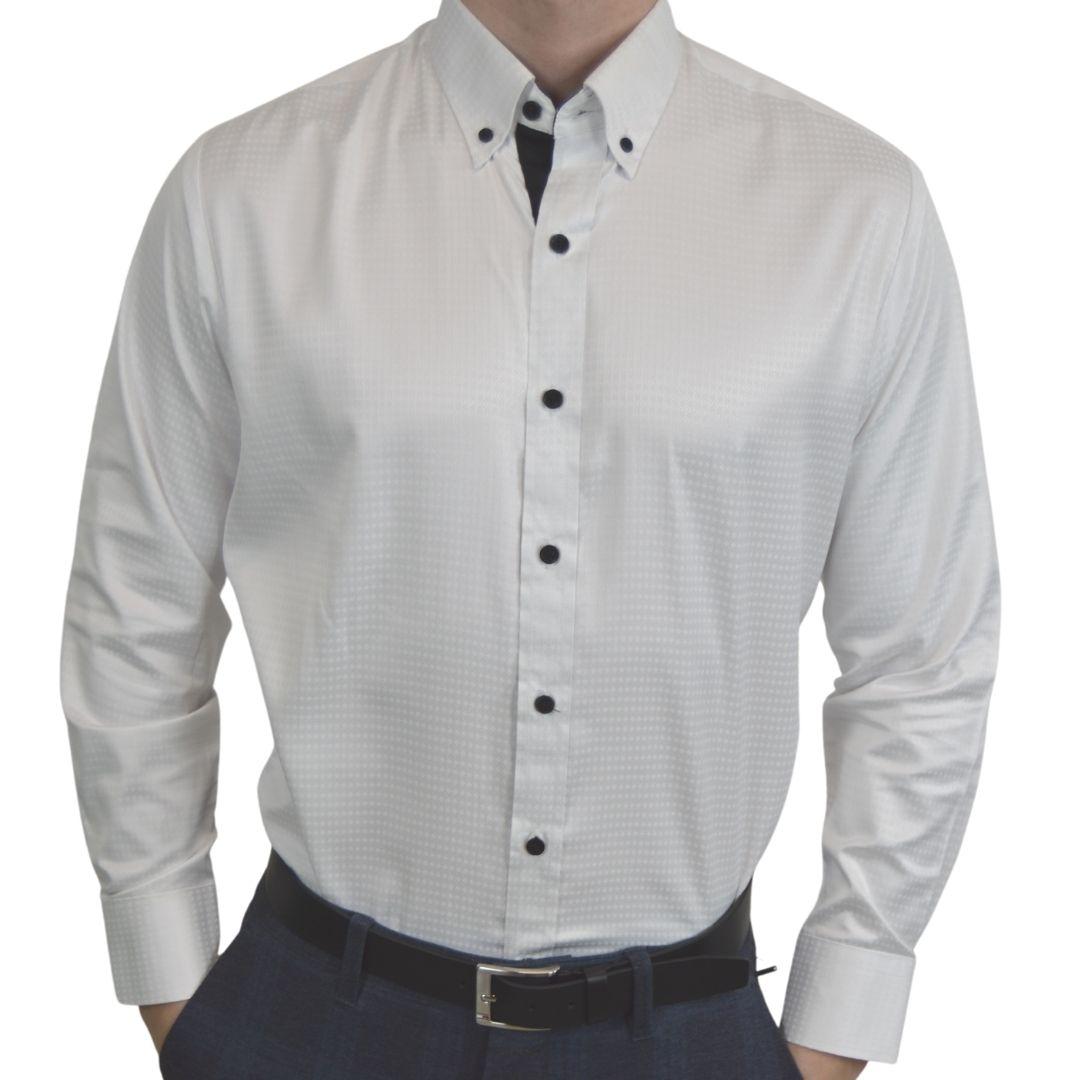Tailormade - Skjorte hvid silke