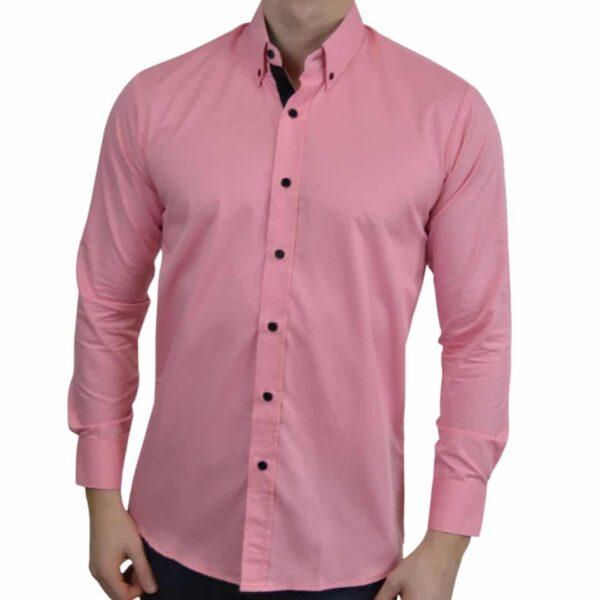 Tailormade-skjorte-pink
