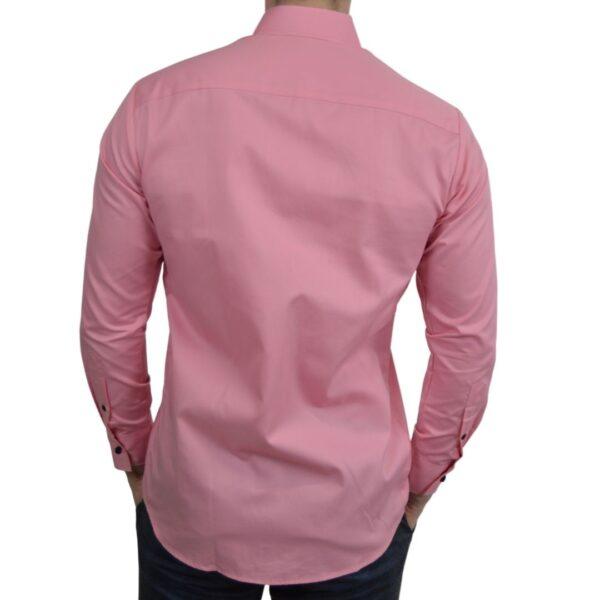 Tailormade-skjorte-pink-classic