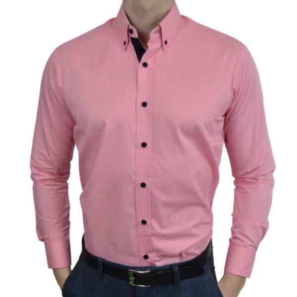 Tailormade-skjorte-pink-moderne