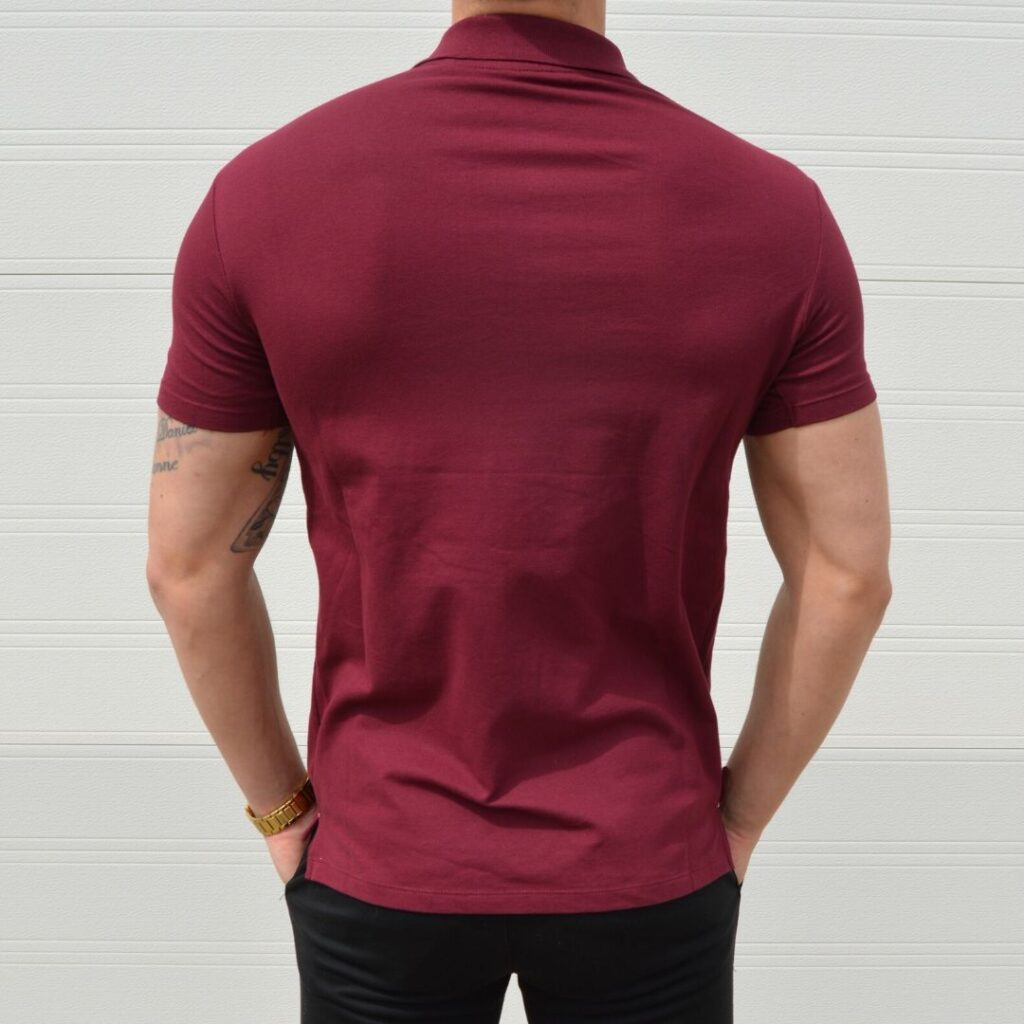 Xtreme Stretch Poloshirt Bordeaux Polo