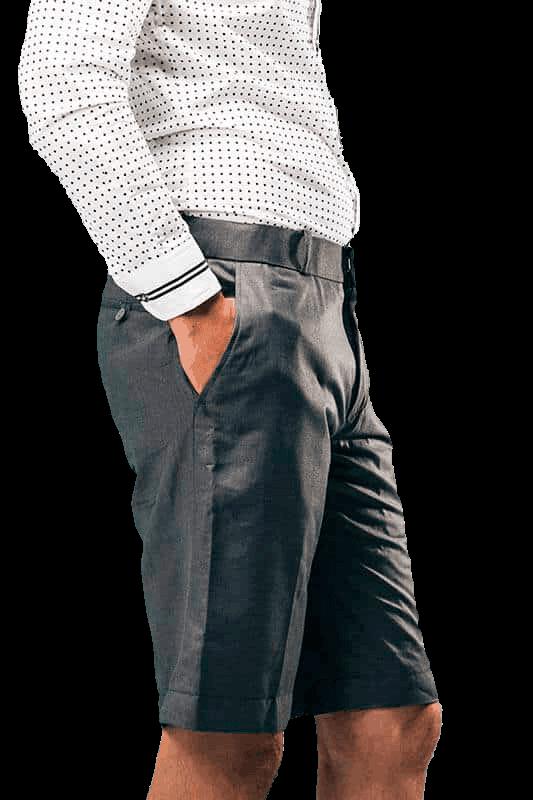 Hvid Skjorte Med Shorts 18 Transparent