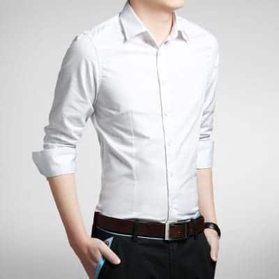 den rigtige skjorte