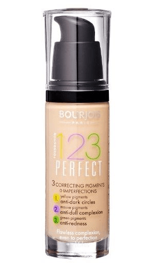 Image of   Bourjois 123 Perfect Foundation 16H SPF10 55 Dark Beige