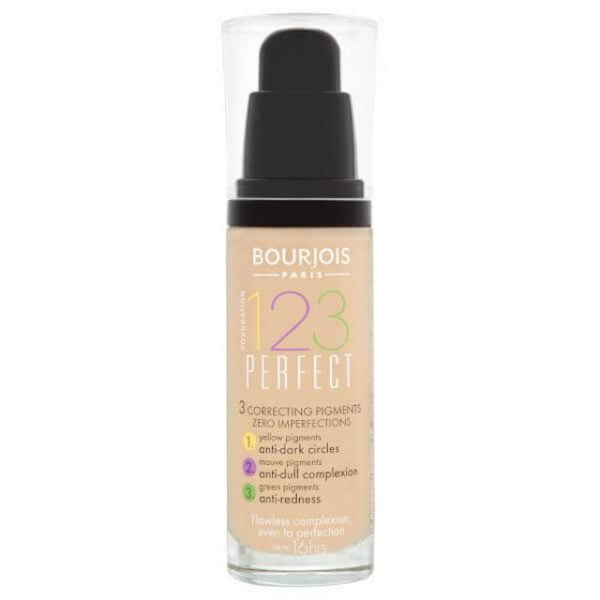 Bourjois 123 Perfect Foundation Spf10 51 Light Vanilla