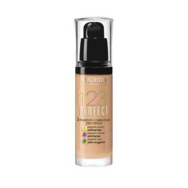 Bourjois-123-perfect-foundation-spf10-52-vanilla