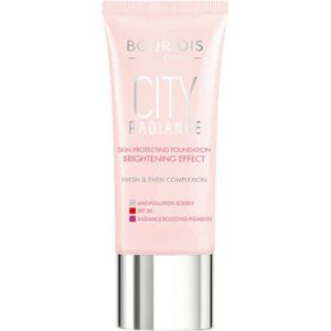 bourjois city radiance foundation golden sun