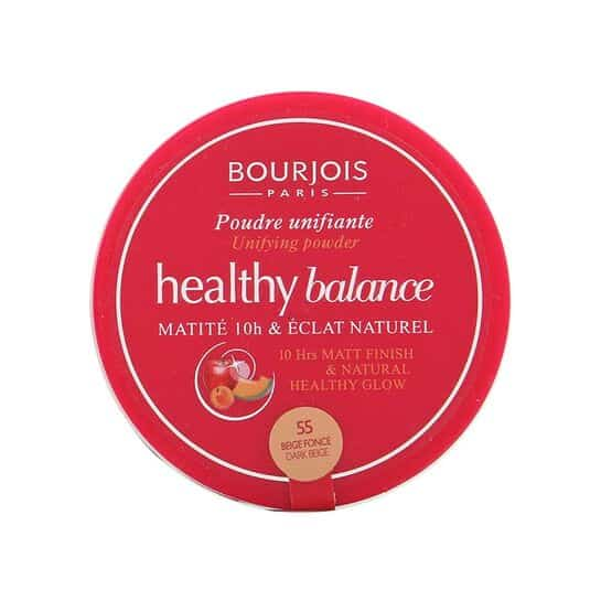 Image of   Bourjois Healthy Balance Unifying Powder 55 Dark Beige