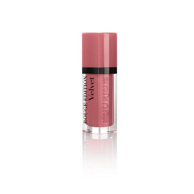 Image of   Bourjois Rouge Edition Velvet 09 Happy Nude Year
