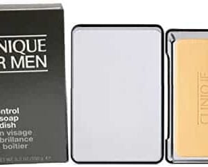 clinique for men oil control face soap with dish g