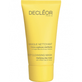 decléor deep cleansing mask with white clay and herbs ml