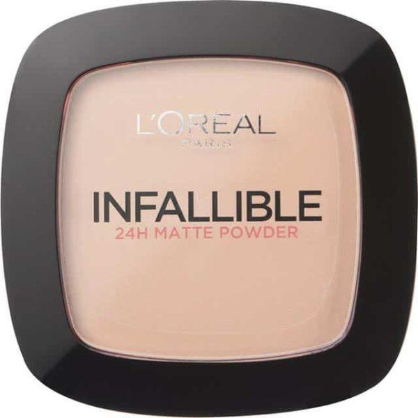 Loréal-paris-infallible-24h-matte-powder