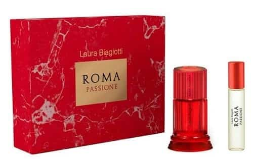 Laura Biagiotti Roma Passione Edt Set 50ml And 15ml