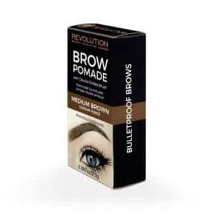 Makeup Revolution Brow Pomade Medium Brown