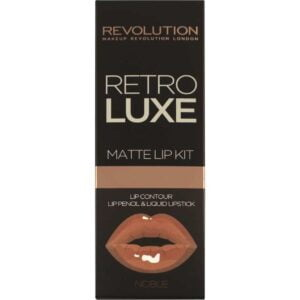 makeup revolution retro luxe matte lip kit