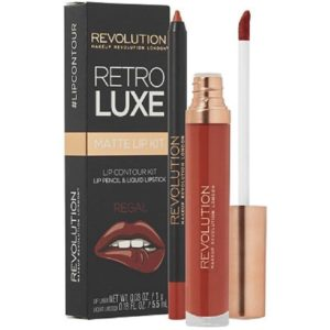 Makeup Revolution Retro Luxe Matte Lip Kit Regal