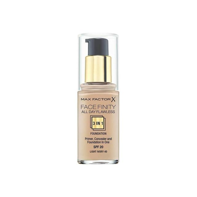 Image of   Max Factor Facefinity All Day Flawless 3-in-1 Foundation SPF20 40 Light Ivory