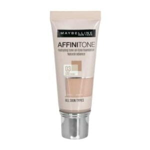 maybelline affinitone light sand beige foundation ml