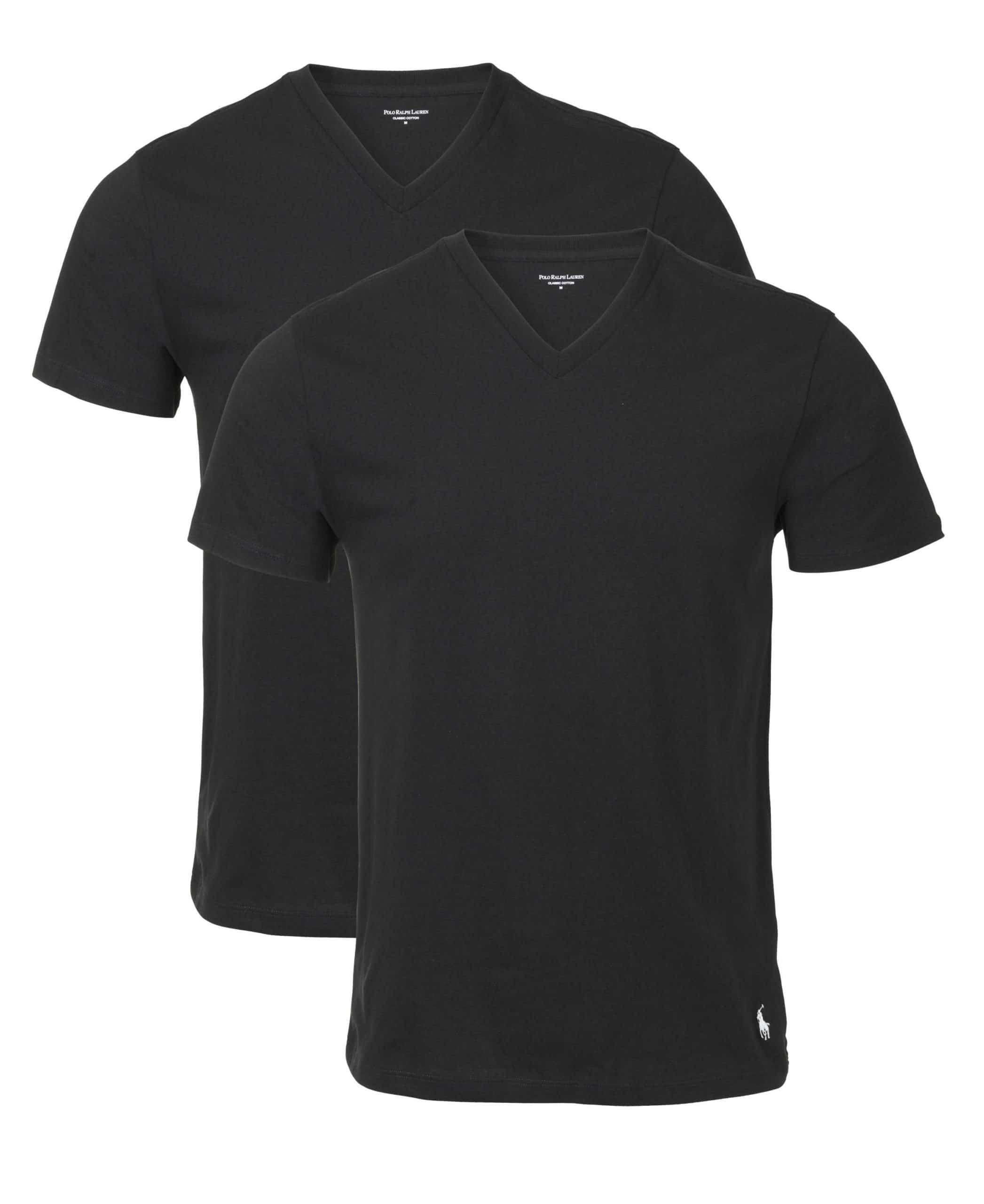 Ralph Lauren Classic V-Neck T-Shirts 2 Pack