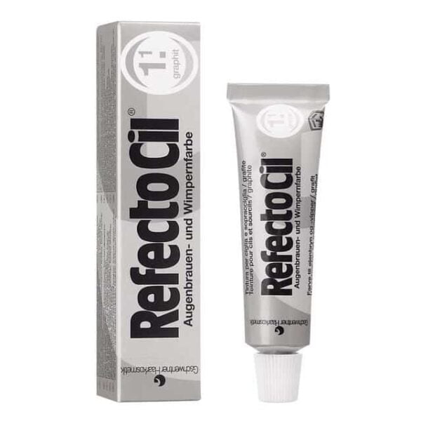 refectocil eyelash eyebrow tint colours graphite