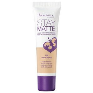rimmel stay matte liquid mousse foundation sand