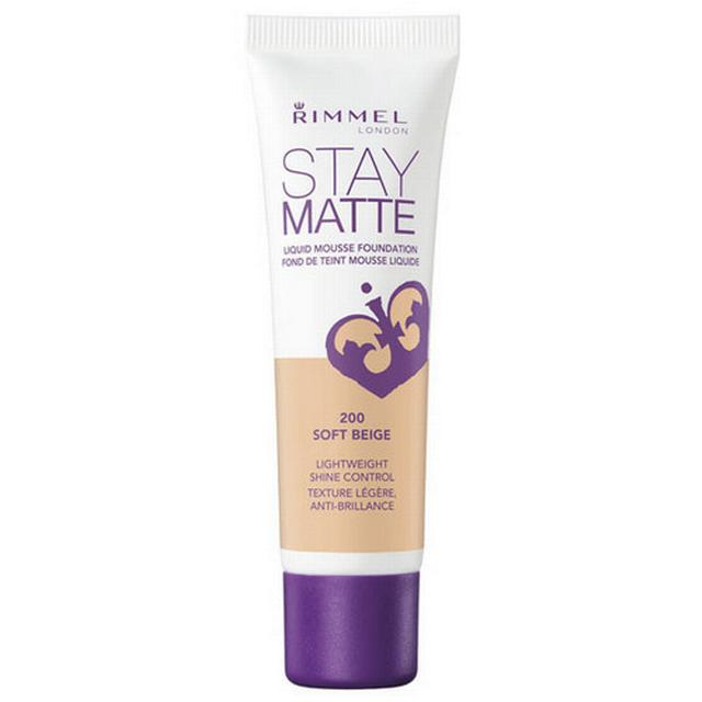 Image of   Rimmel Stay Matte Liquid Mousse Foundation 300 Sand