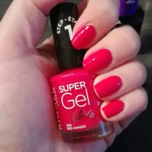 rimmel super gel red ginger