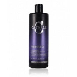 tigi catwalk fashionista violet conditioner for blondes and highlights