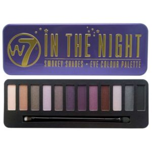 w in the night smokey shades eye colour palette in eyeshadow palette