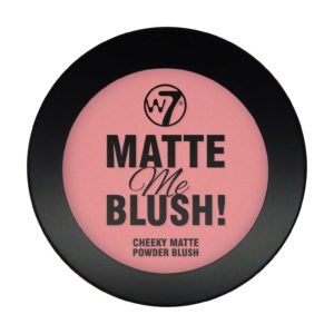 w matte me blush on the edge