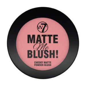 W7 Matte Me Blush On The Edge