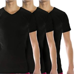 Tommy Hilfiger 3 Pack V Neck T Shirts 2