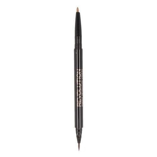 makeup revolution awesome dual brow ultra brow arch shape fair