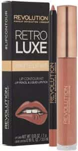 makeup revolution retro luxe matte lip kit reign