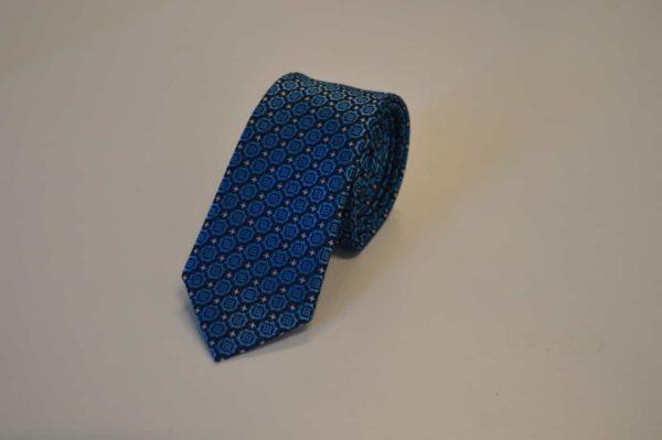 Lyseblåt-slips-stjernemønster