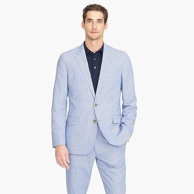 ustrukturerede jakkesæt