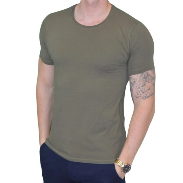 Premium Xtreme Stretch T-shirt Army Grøn
