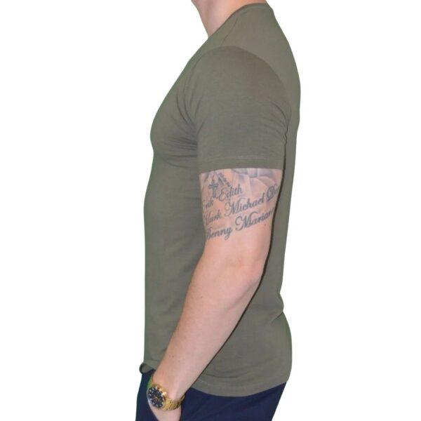 Premium Xtreme Stretch T-shirt Army Grøn - side