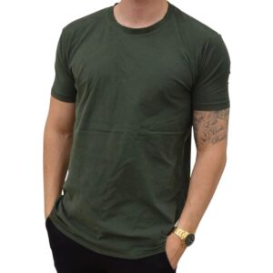 Xtreme Stretch Carbon Tee Army Grøn