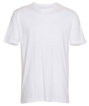 Basic T Shirt Crew Neck Hvid