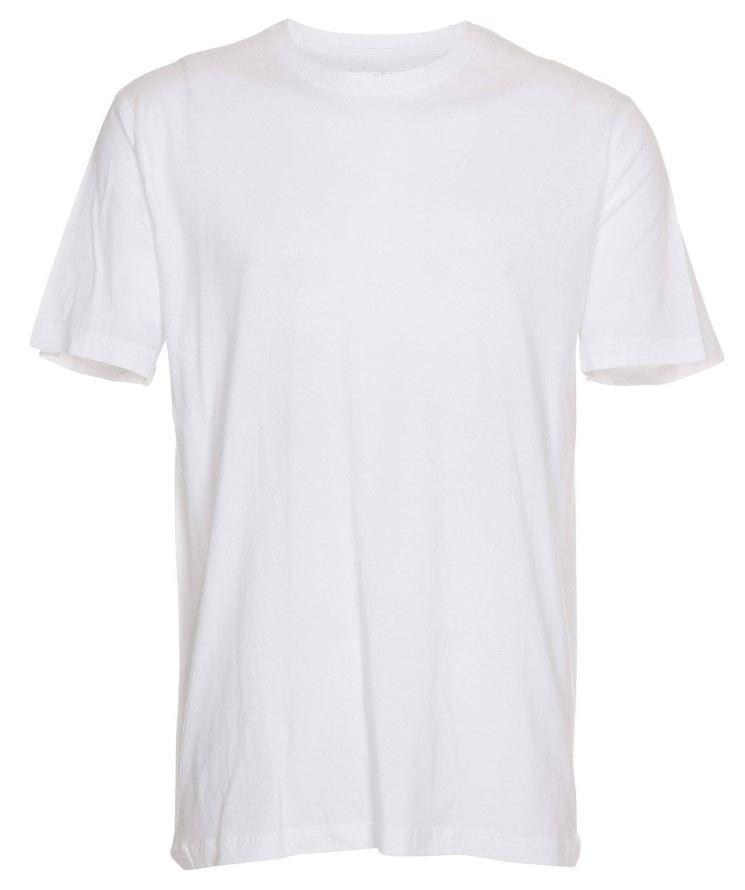 Basic T-shirt Crew Neck Hvid