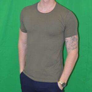 Premium Xtreme Stretch T Shirt Army Groen