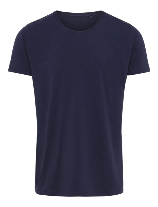 Premium Xtreme Stretch T Shirt Navy Blå Scaled
