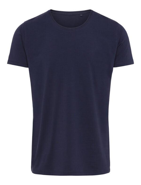 Premium Xtreme Stretch T Shirt Navy Blå Scaled