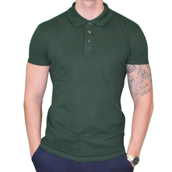 Xtreme Stretch Poloshirt Mørke Grøn