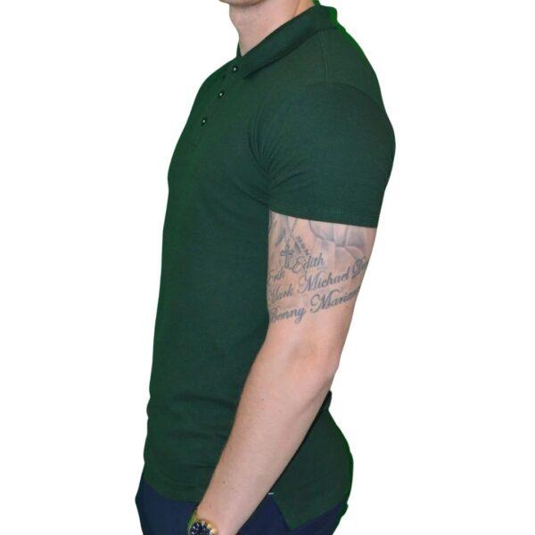 Xtreme Stretch Poloshirt Mørke Grøn 1