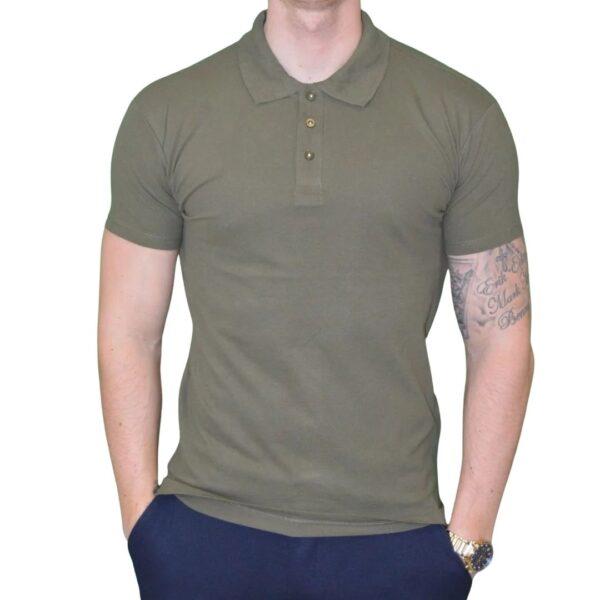 Xtreme stretch Poloshirt Army Grøn