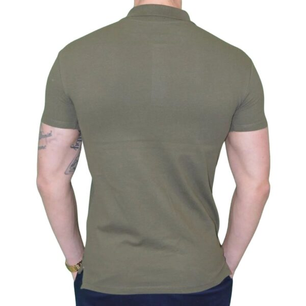 Xtreme stretch Poloshirt Army Grøn 1