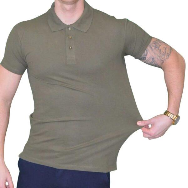 Xtreme stretch Poloshirt Army Grøn - shirt